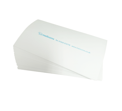 200 Double Sheet Universal Long (175mm) Franking Labels (100 sheets with 2 per sheet)
