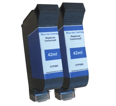 FP Mailing Centormail Compatible Blue Ink Cartridge - Royal Mail Approved (42ml Version)