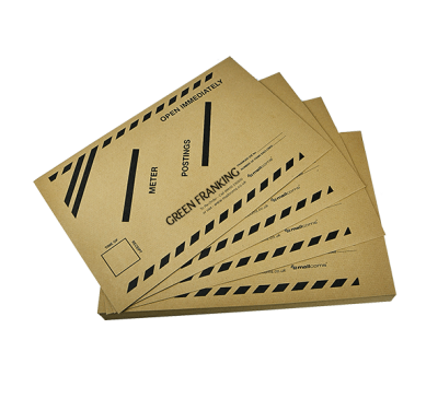 100 Envelopes - Franked Mail Posting in Low Volume