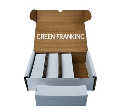 1000 Compatible Frama FN Series 9 Single Franking Machine Labels